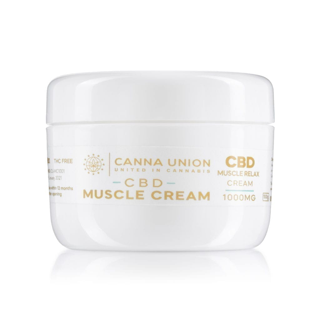 CBD Muscle Relax Cream