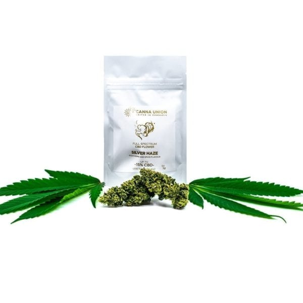 Silver Haze CBD Cannabis Bag