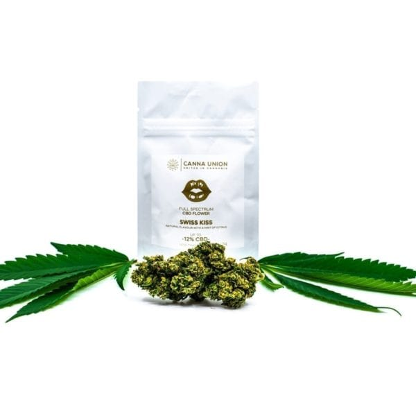 Swiss Kiss CBD Cannabis Bag
