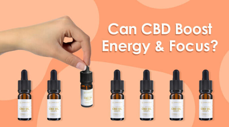 Can CBD Help Boost My Energy and Focus?