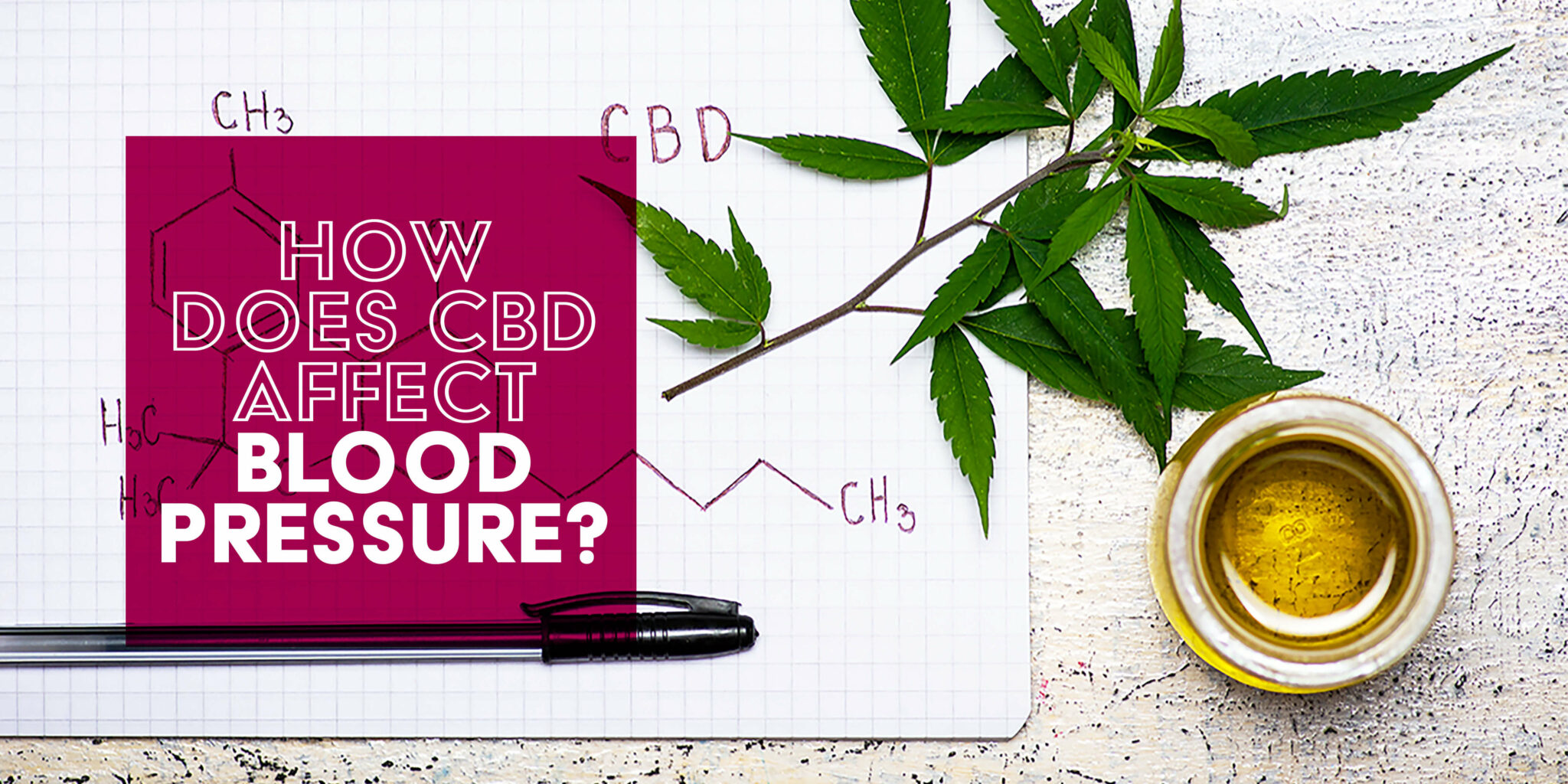 How Does CBD Affect Blood Pressure?